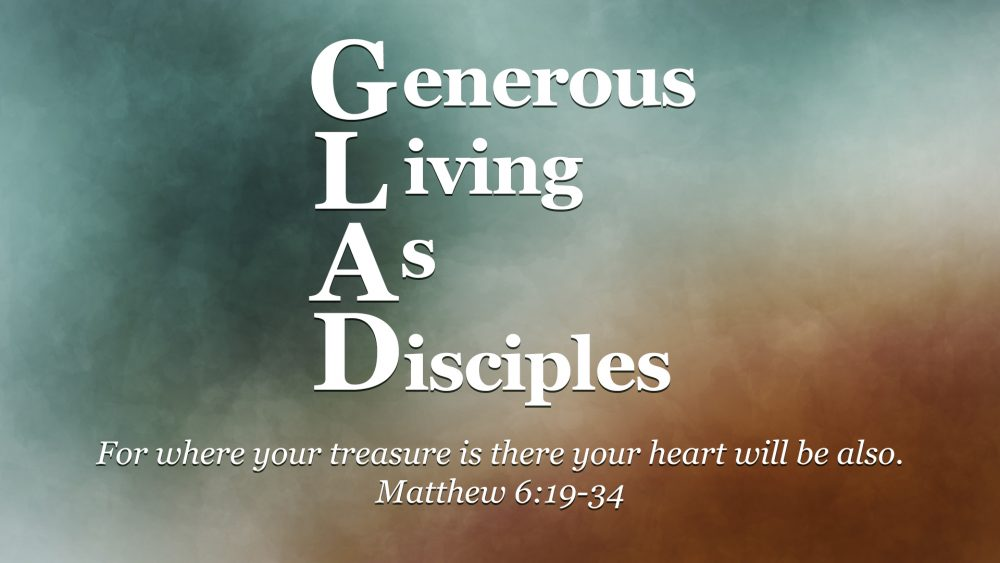 Generous Living as Disciples