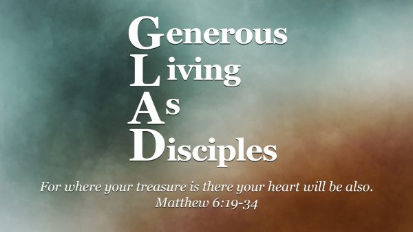 Generous Living as Disciples